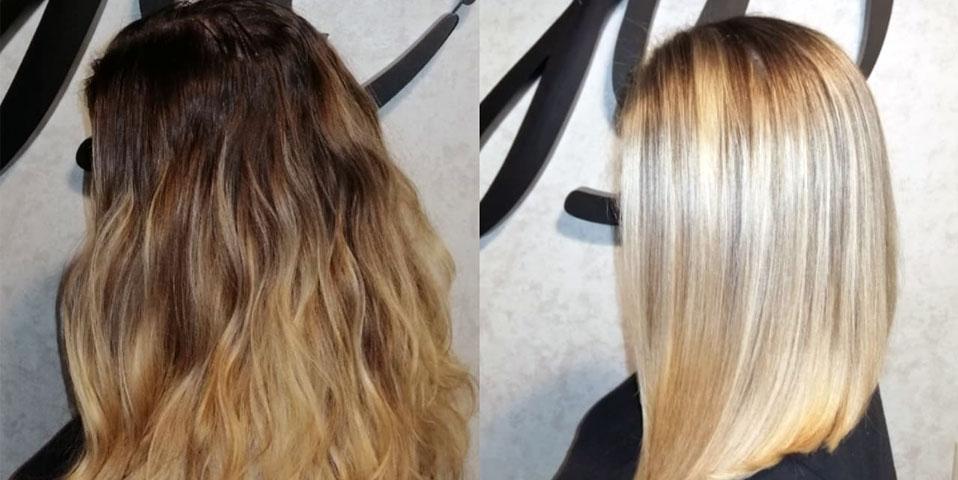 Подарок при окрашивании волос: полировка, стрижка или укладка!